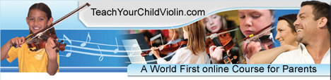 Teach Your Child Violin Membership